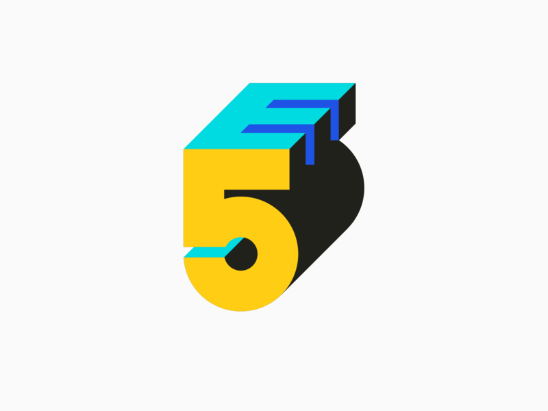E5 Logo mechanical science university bold geometric brutalism space education logo brand engineering
