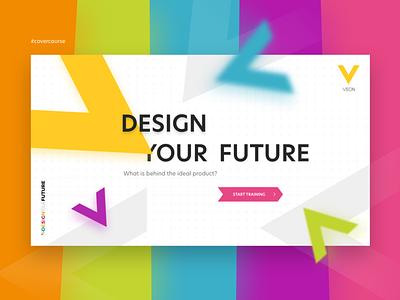 Cover Course designyourfuture learn lms e-course learning design fullcolor cover course