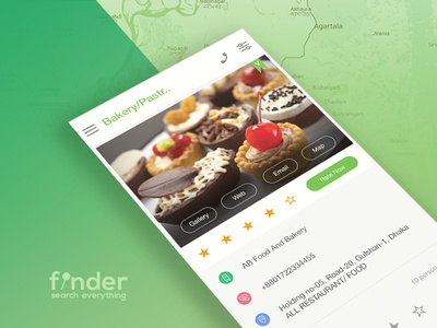 Finder Directory App Template