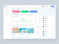 Dashboard UI for Capital