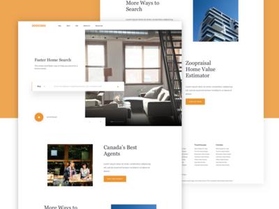 Zoocasa - Landing Page Concept