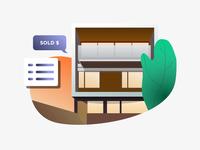 Home Sold Data Illustration