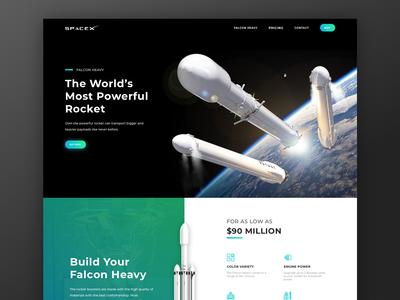 SpaceX - Falcon Heavy Landing