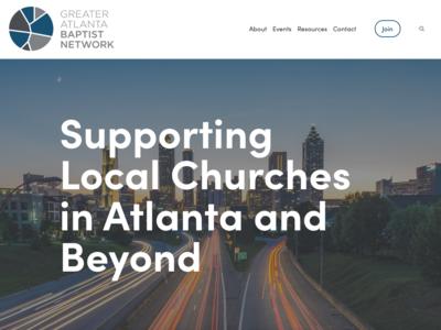 Greater Atlanta Baptist Network Website