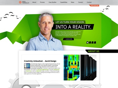Minisite Home Page