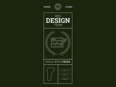 Web Design Team T-shirt