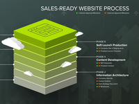 Web Process Infographic