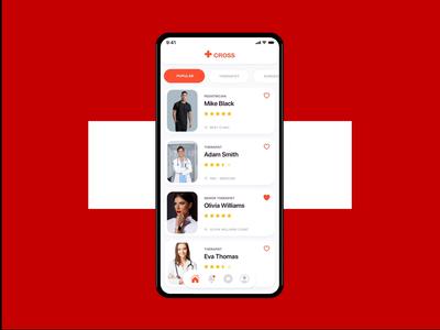 Medical app minimal clean daily ui clinical medical healthcare health app doctors application product design app design mobile ios app ux ui health doctor