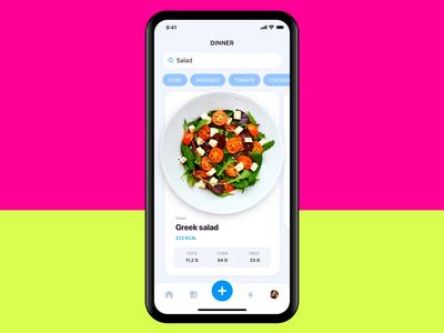 Calorie Counter app apple design calculator daily 100 challenge ui animation healthy food calorie calculator calorie product design clean dailyui fitness app calories apple