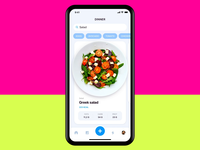 Calorie Counter app apple design calculator daily 100 challenge ui animation healthy food calorie calculator calorie product design clean dailyui fitness app calories apple