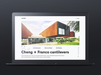 Cheng + Franco cantilevers