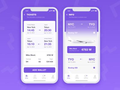 Flight app fly flight ticket tickets travel ios clean flight app user interface user experience ui ux