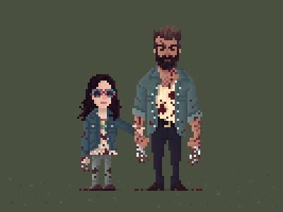 Pixel Logan