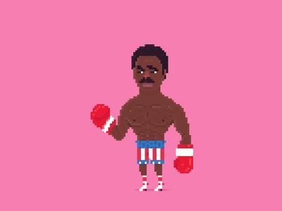 Pixel Apollo Creed