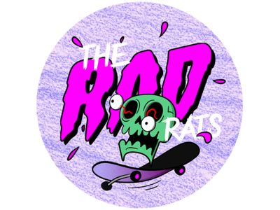 Rad stickers illustration