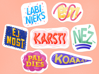 Messenger stickers