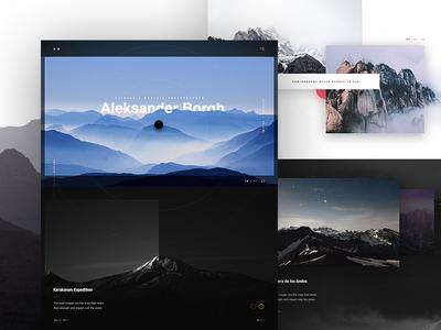 AB personal brand website design websites portfolio photography design website ux web ui