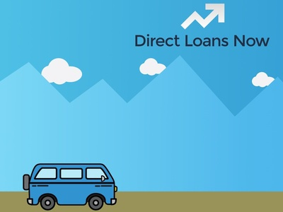 Direct Loans Now website concept svg grunticon web design