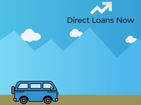 Direct Loans Now website concept