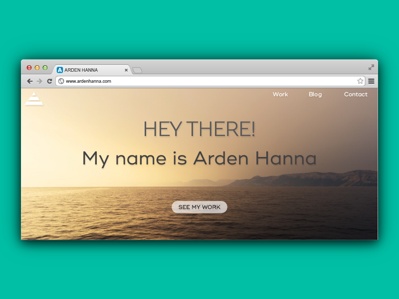 Home Page Brainstorming dailyui bay area arden hanna web design home page interface material chrome ui