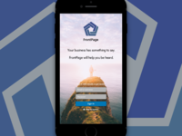 FrontPage iOS App Design Proposal.