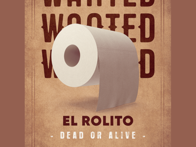 COVID19 - Wanted Posters alert pandemia antivirus virus deadoralive western wanted covid-19 toiletpaper isolation coronavirus covid19 quarantine design graphic