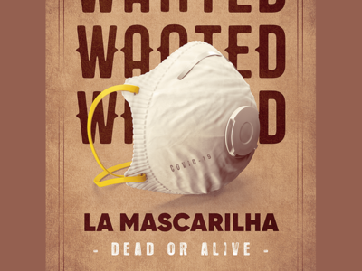 COVID19 - Wanted Posters isolation antivirus covid-19 western alert poster wanted pandemia quarantine virus covid19