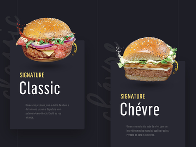 Burguer cards concept liquid responsive mobile experience usability card ux user experience ui sauce retouching mcdonalds interface hamburguer graphic
