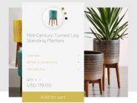 DailyUI // Day 12 : E-Commerce Shop