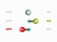 DailyUI // Day 15 : On/Off Switch