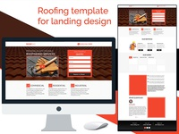 Roofing template for landing design