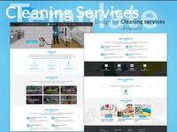 Design for Cleaning Services Template