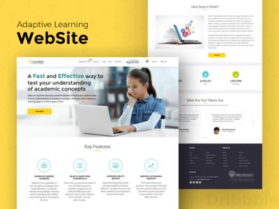 Adaptive Learning Website