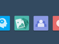 Kapost App Suite Icons