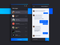 Daily UI Challenge #013 — Direct Messaging