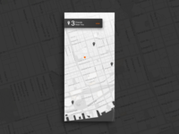 Daily UI Challenge #020 — Location Tracker
