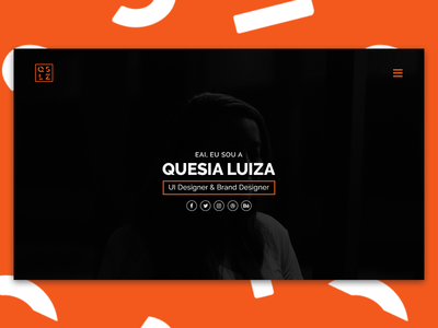Personal Website website personal layout ux ui interface design