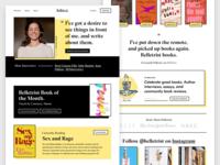 Online Book Club Site Design