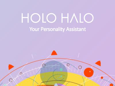 holo halo 1 animation radial fiction speculative sci-fi holograph holo halo