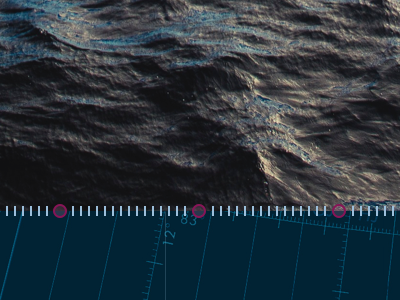 water and guidelines waves water map blue timeline story