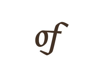 """of"" titles ligature serif story"