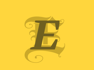 creating illuminated type styles with webfonts