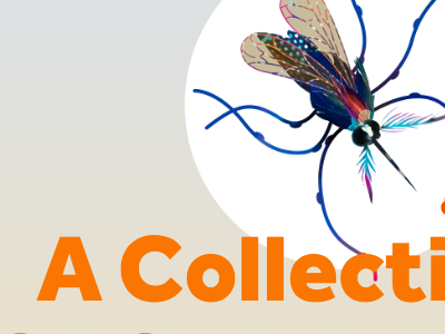 A Collection... type mosquito website illustration pixel fable