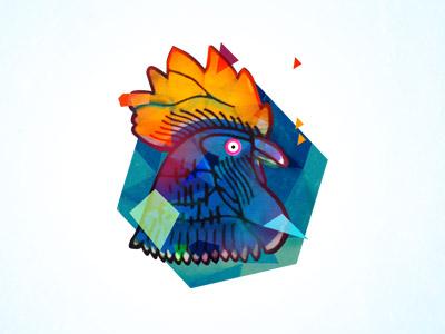 Dribbbledemo pixel fable chicken