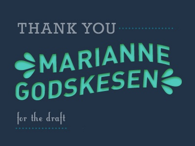 Thank You Marianne