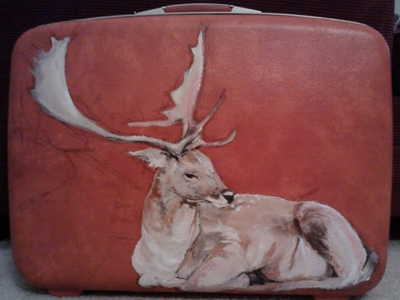 Samsonite Painting