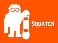 SQUATCH Outerwear   Snowboard t-shirt
