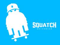 SQUATCH Outerwear   Skateboard t-shirt