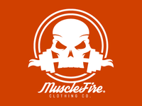 MuscleFire clothing co. | Logo