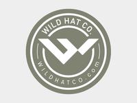 WILD hat co. - Sticker